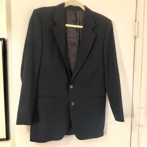 Yves Saint Laurent • Men's Vintage Navy Blazer